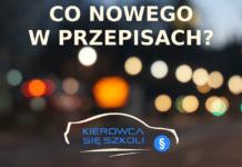 Przepisy ruchu drogowego - Kierowca się szkoli