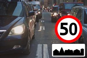 Podwyższona prędkość nie dla wszystkich, 50 km