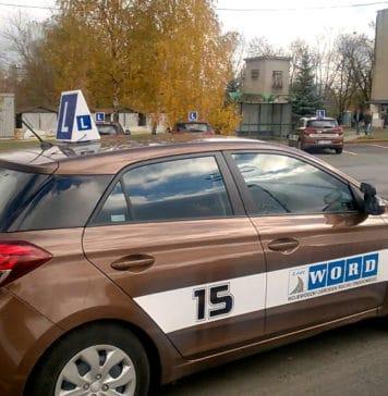 WORD w Łodzi - kategoria B prawa jazdy - Kierowca się szkoli