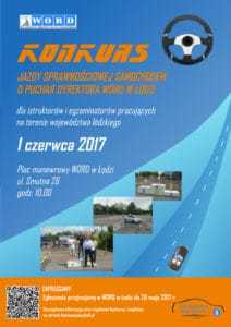 plakat - Konkurs Dyrektora WORD w Łodzi - 2017